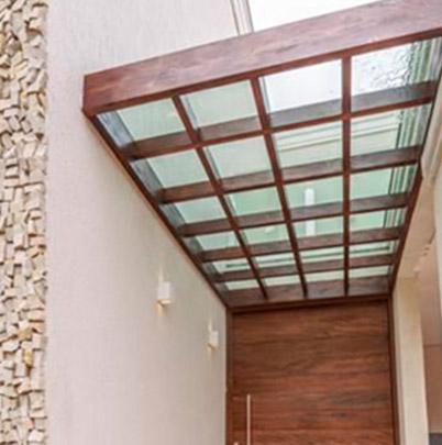cobertura de vidro pergolado - sev exclisivv - 1