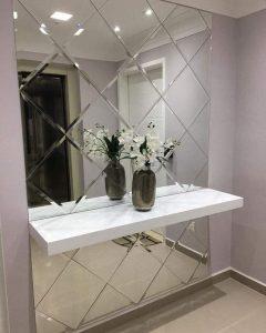 espelhos em mosaico