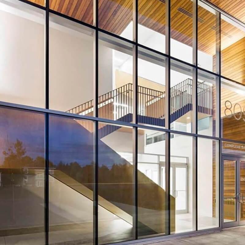 Fachada de vidro Grid - 8 - SEV Exclusivv