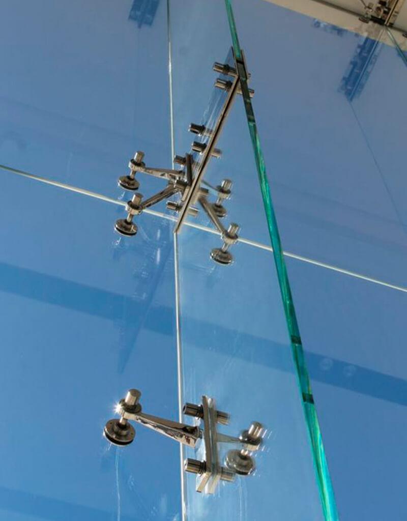 Fachada de vidro Spider glass - 11 - SEV Exclusivv