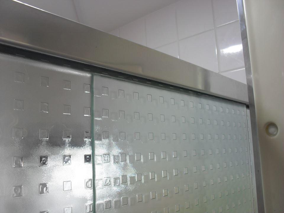 Box de vidro quadrato