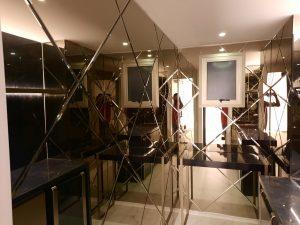 Revestimento em espelhos