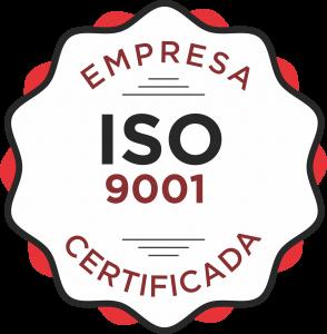 SEV Exclusivv - Selo ISO 9001